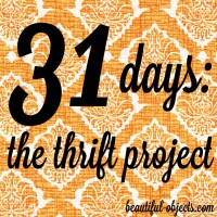 31 Days: The Thrift Project