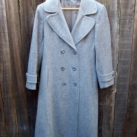 31 Days: The Thrift Project - Day 30: Gray Dana Coat