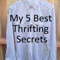 31 Days: The Thrift Project - Day 3: My 5 Best Thrifting Secrets