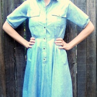 31 Days: The Thrift Project - Day 11: The Shirt Dress