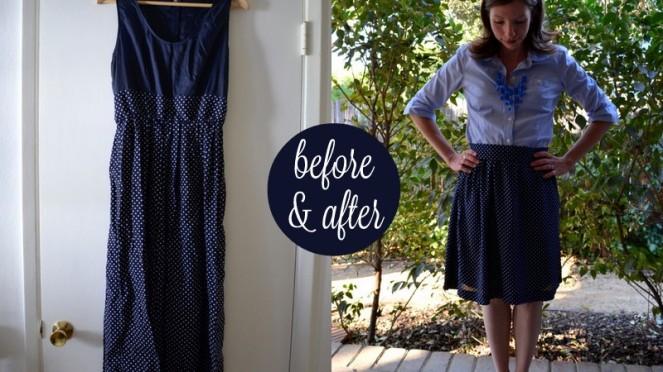 14 - apron skirt
