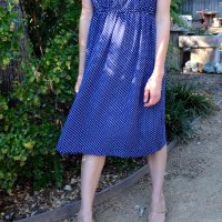 31 Days: Creative Habit - Day 24: Little Blue Dress