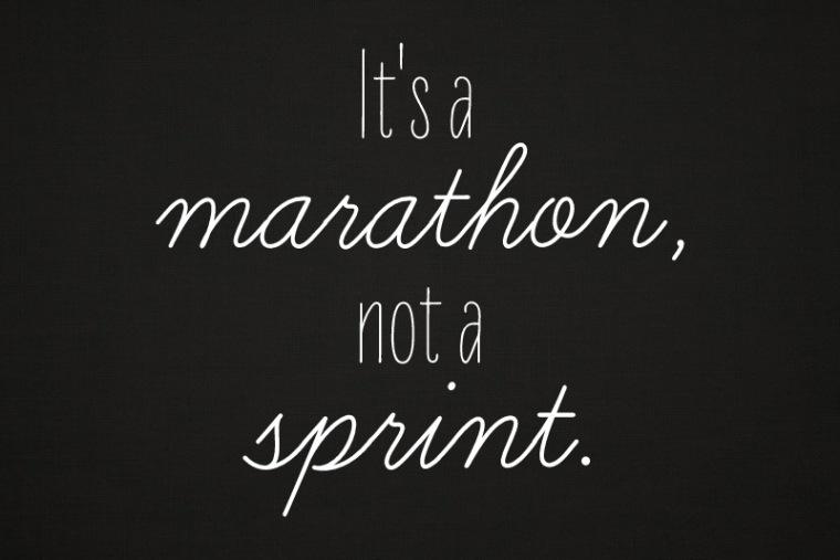 marathon sprint