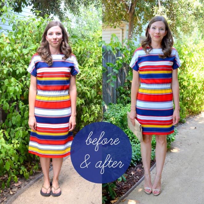 mammaw polyester dress