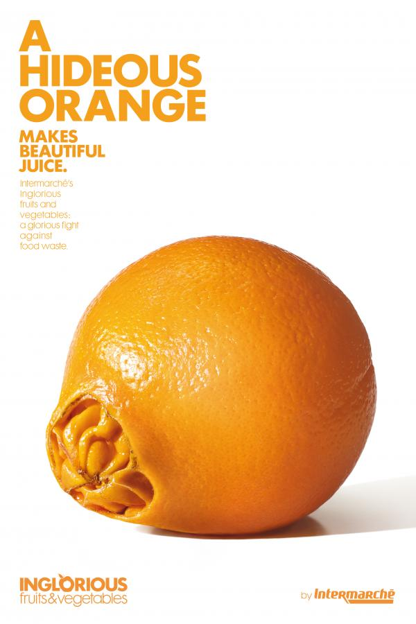 hideous orange inglorious fruits and vegetables