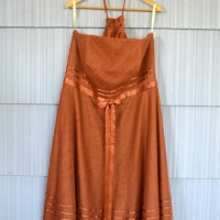 31 Days: Color - Day 26: Prom Dress Skirt, The Rust-Colored Version