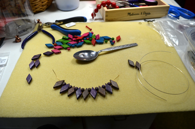 harlequin necklace