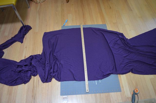 making a simple knit dress
