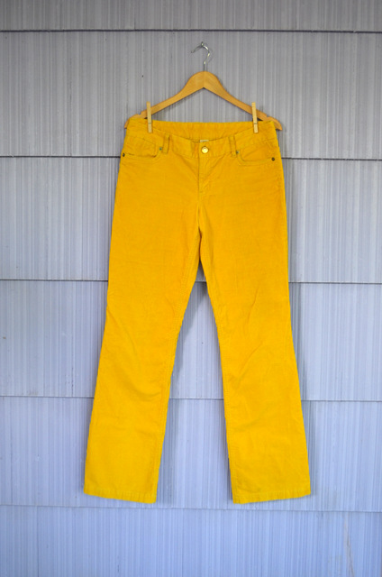 yellow pants
