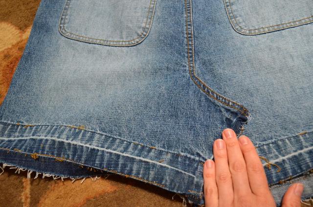 overalls refashion