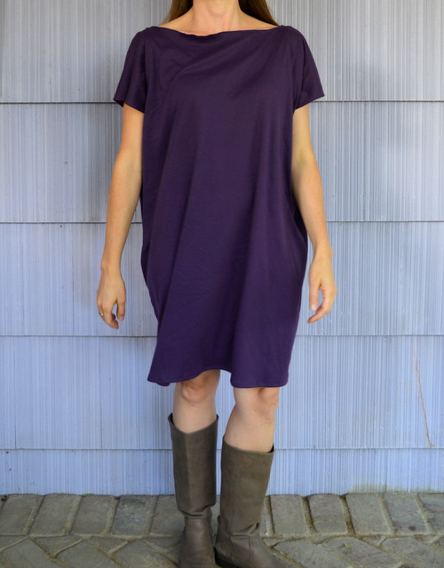 simple knit dress
