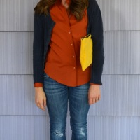 31 Days: Color - Day 21: Mellow Yellow Clutch