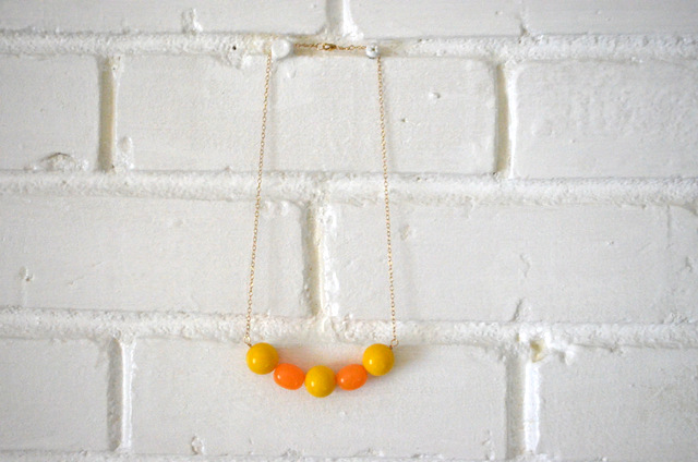 juicy fruit necklace