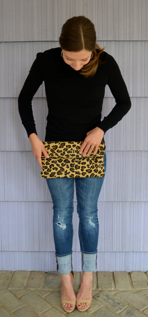 DIY Leopard Clutch :: beautiful objects