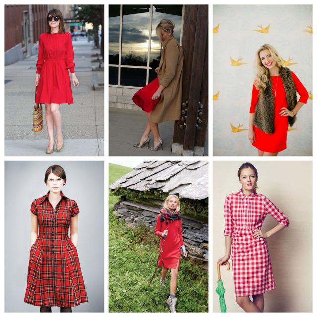 red dress inspiration