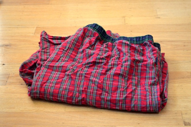 plaid pajamas