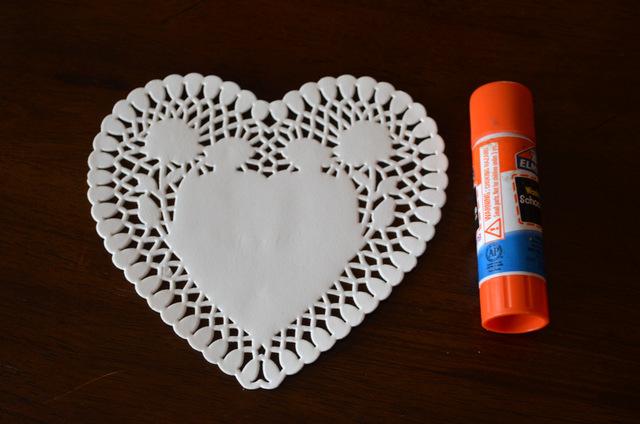 heart garland supplies