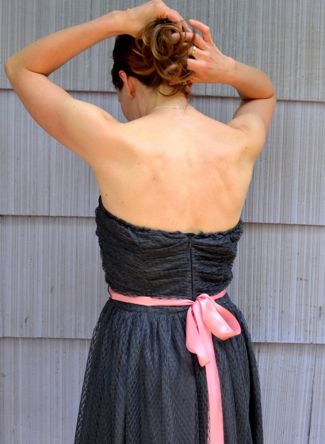 Quick Fix for a Strapless Dress