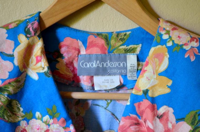 Vintage Carol Anderson Dress
