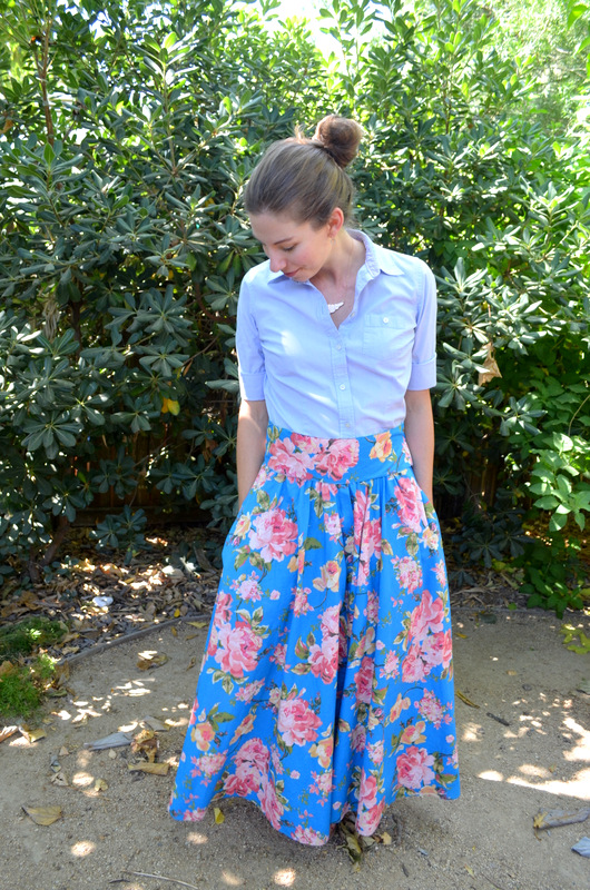 Maxi Skirt from Vintage Dress