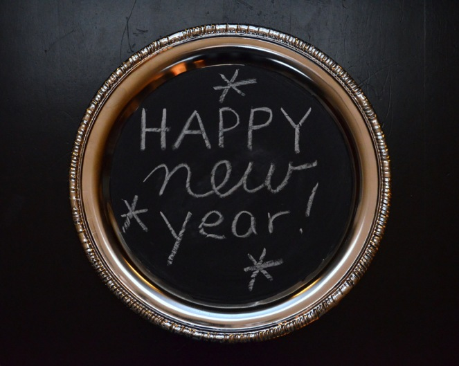 Happy New Year Chalkboard