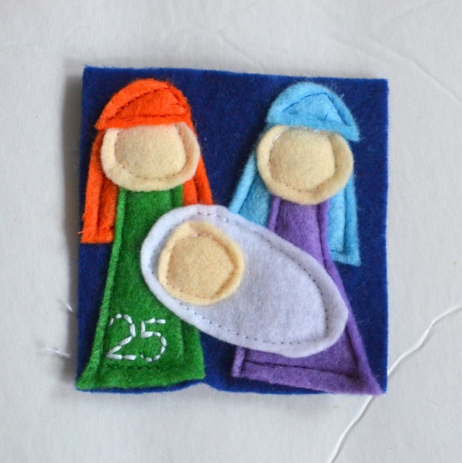 applique nativity