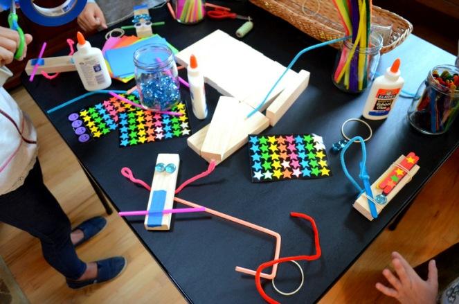 Building Big Party: Making Robots