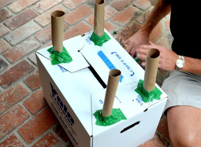 Building Big Party: Cardboard Construction