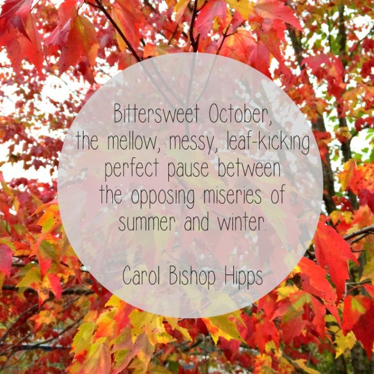 Bittersweet October