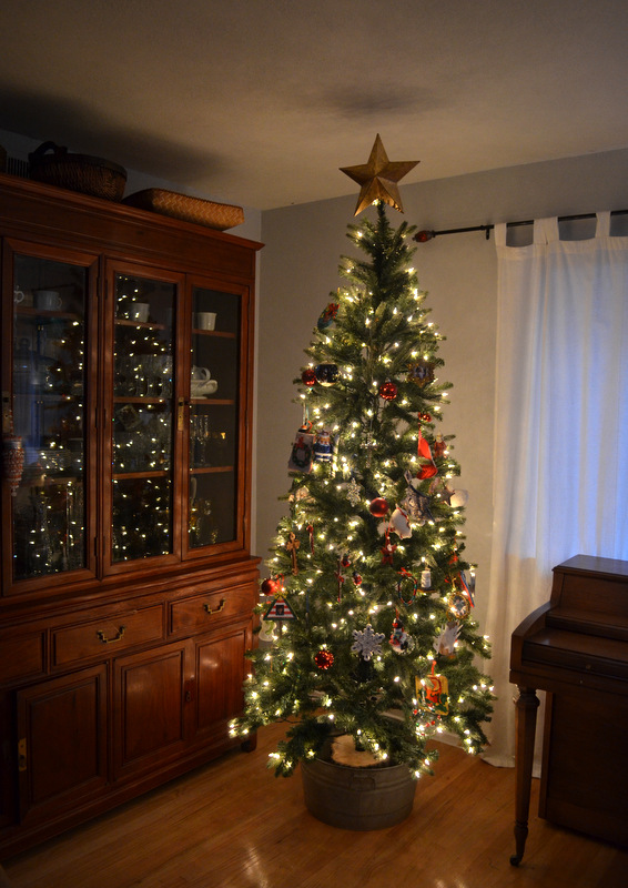 christmas tree galvanized tub