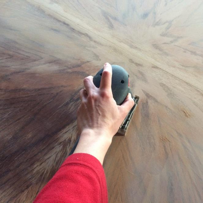 sanding table