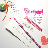 Last Minute Valentine's Cards for Kids - FREE PRINTABLES