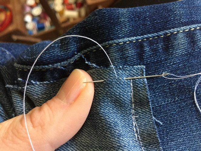 DIY Patched Denim